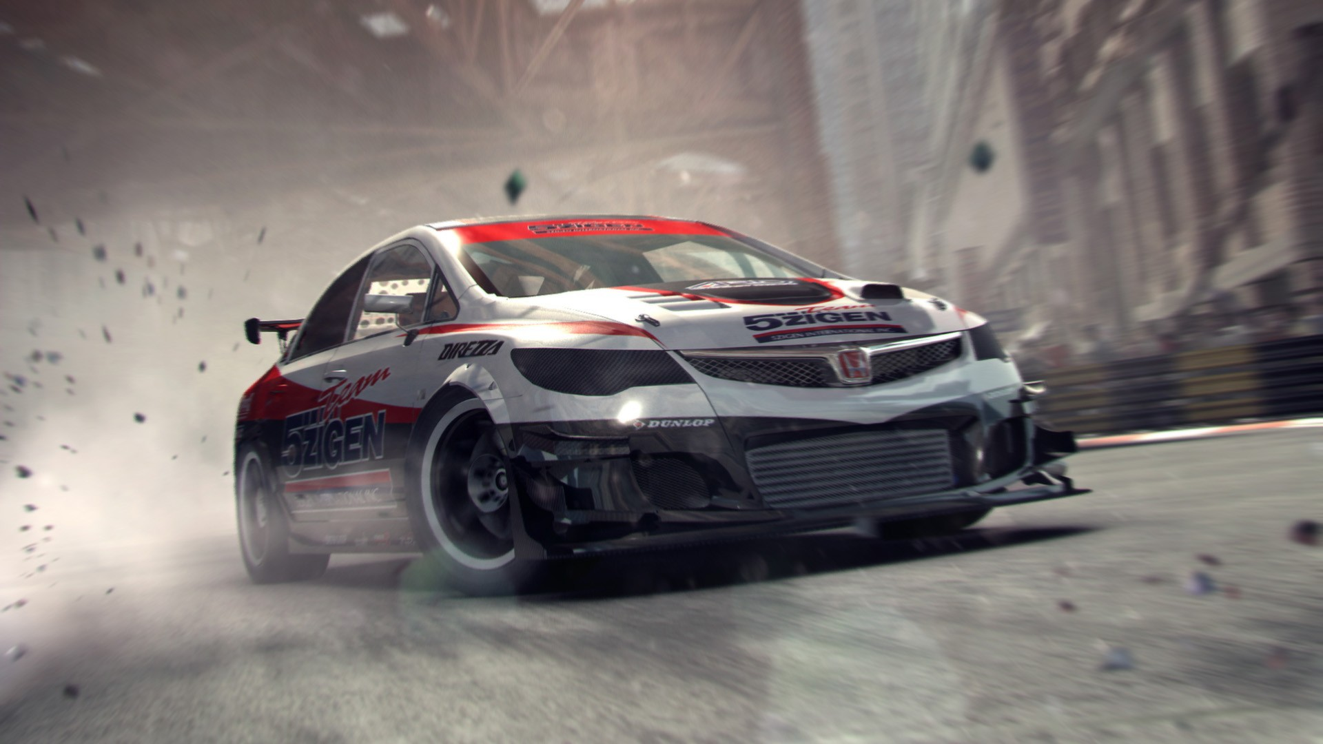 Image of a moment from the game Grid 2