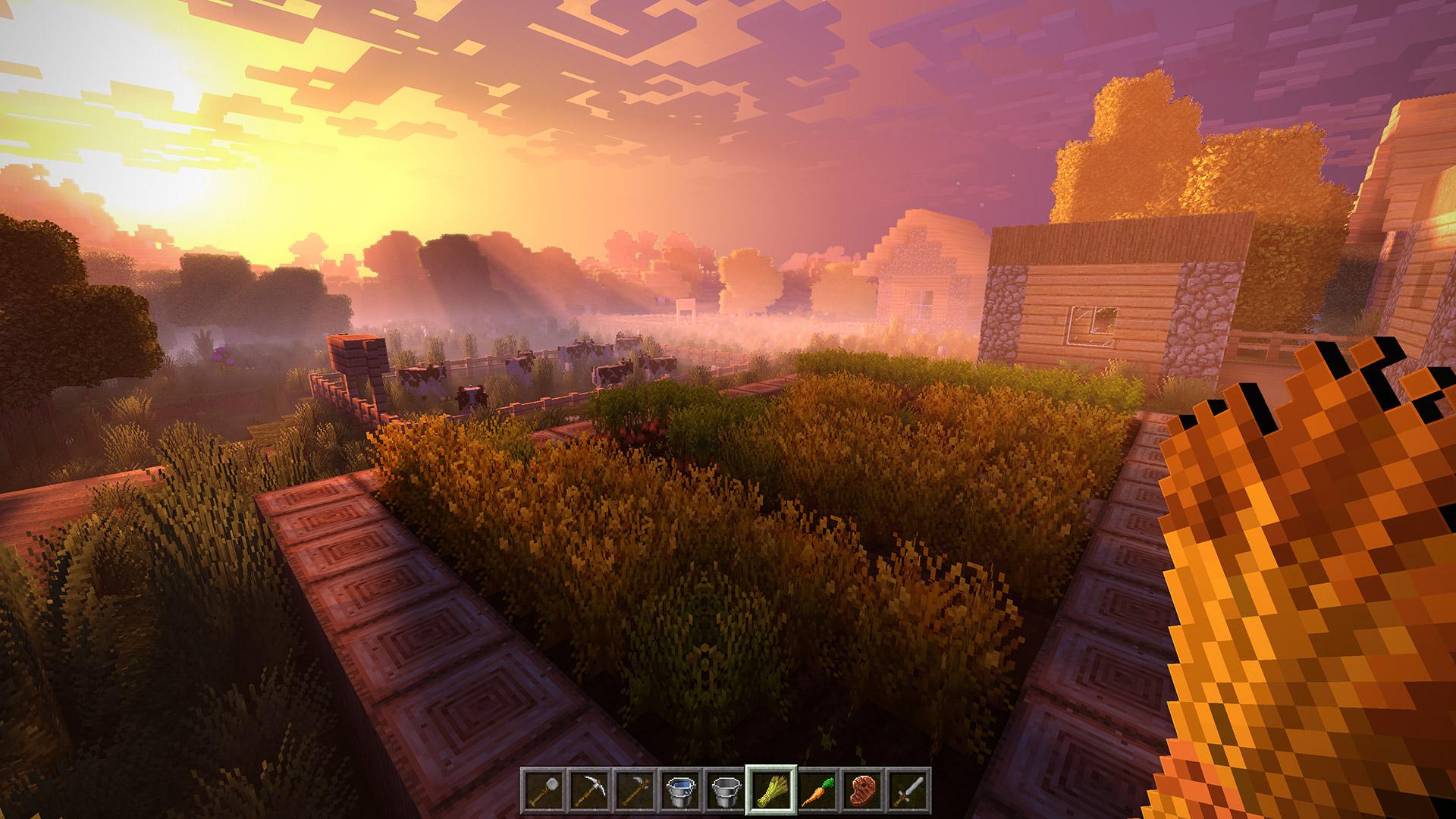 Minecraft's Super Duper Graphics Pack is 'too technically demanding' screenshot