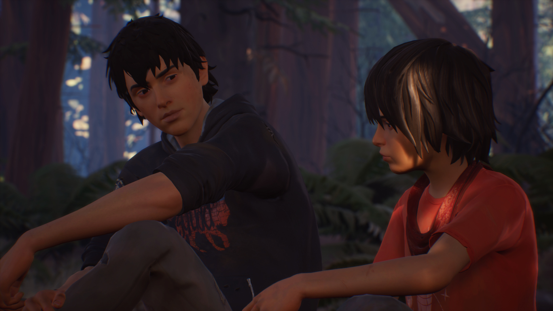 Life is Strange 2's Episode 4 teaser trailer has a tumbleweed, and that's how you know shit is goin' down screenshot
