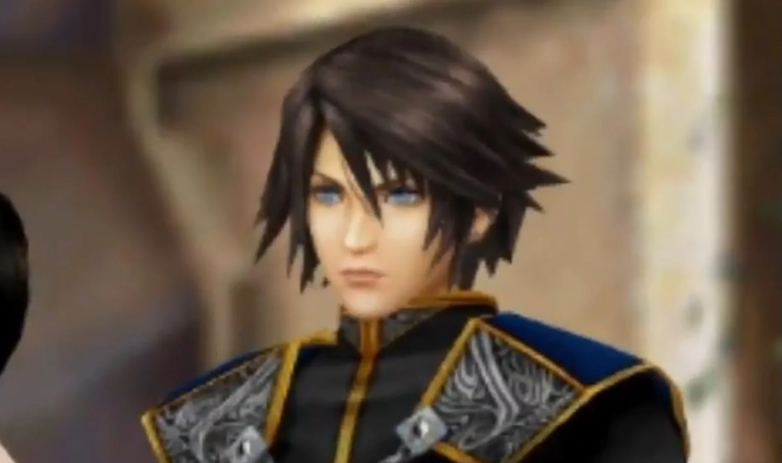 Squall may finally be the best looking guy in the room screenshot