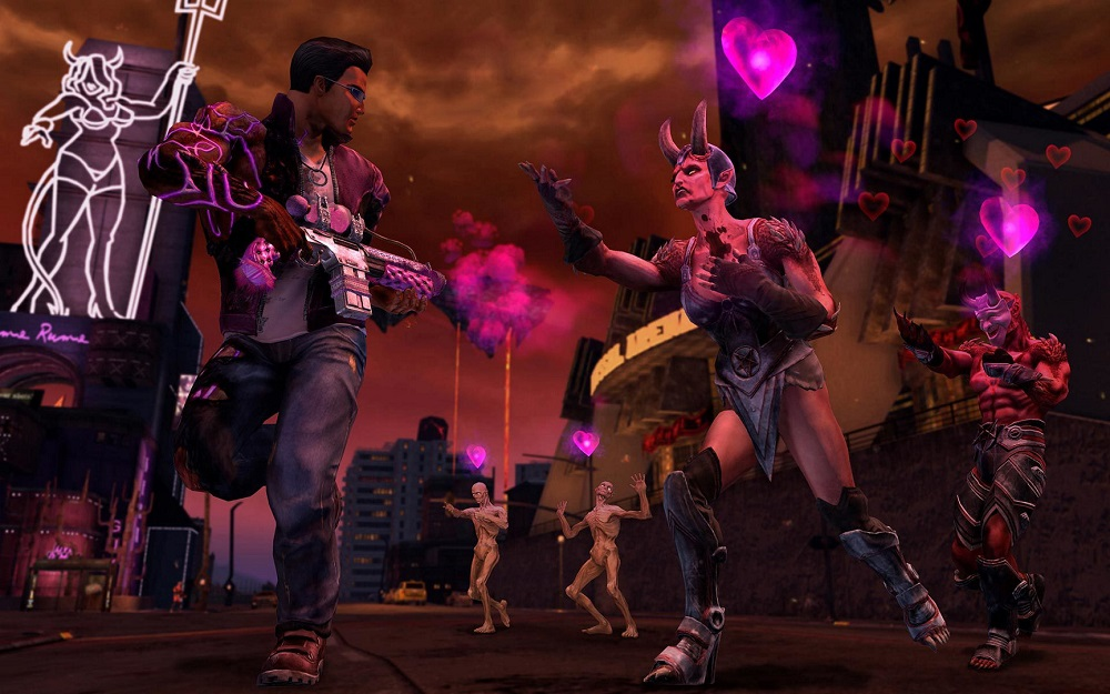 Development of a new Saints Row title well underway at Volition screenshot