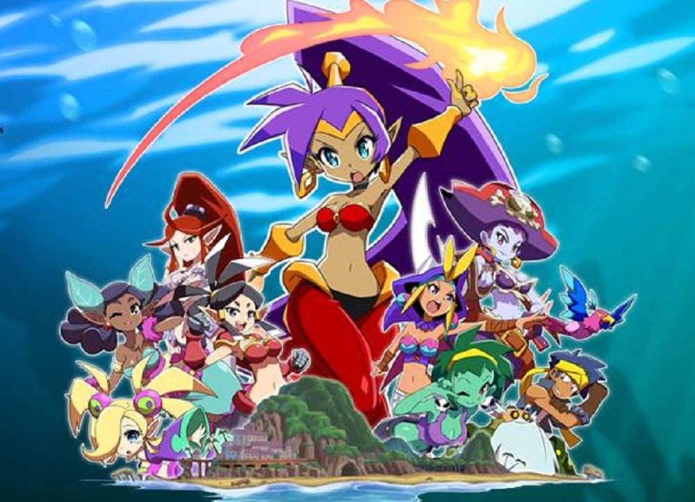 Shantae and the Seven Sirens reveals title, plot details and first screenshots screenshot