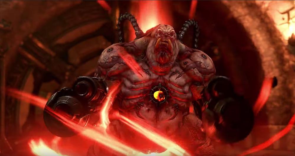 DOOM Eternal reveals 'Battlemode' multiplayer gameplay screenshot