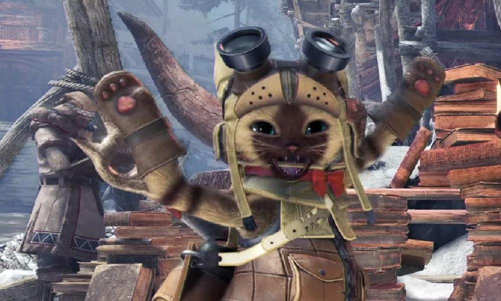 Monster Hunter: Iceborne trailer utilises stupid sexy Felyne to showcase new features screenshot