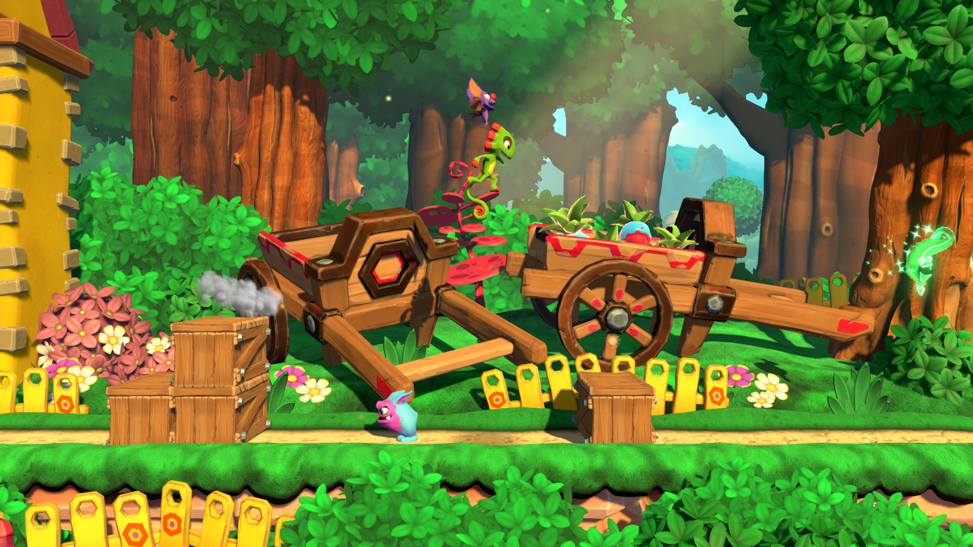 Yooka-Laylee and the Impossible Lair goes to bat in October screenshot