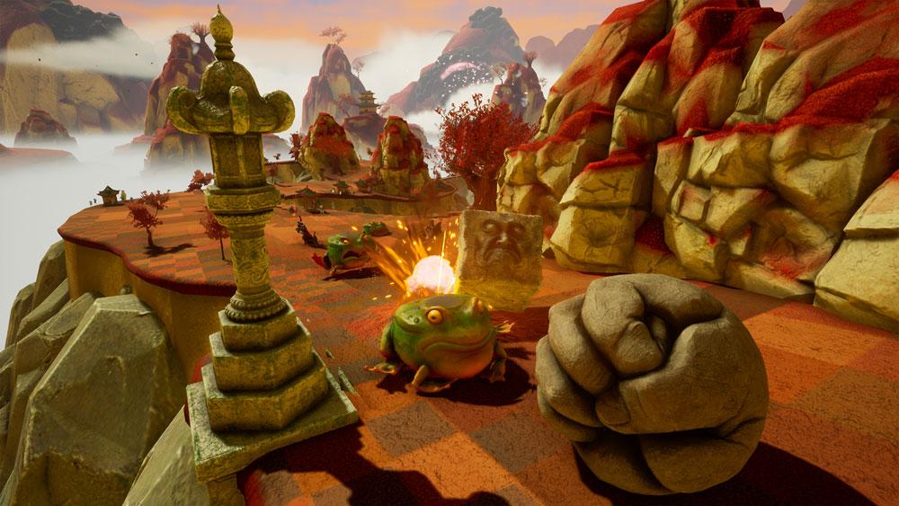 Rock of Ages III: Make & Break keeps the Def Leppard joke alive screenshot
