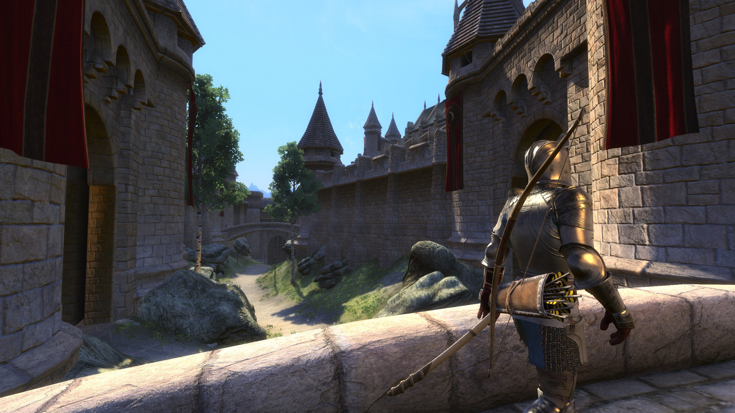 'The end is almost in sight' for Skyblivion, the long-time-coming Oblivion mod for Skyrim screenshot