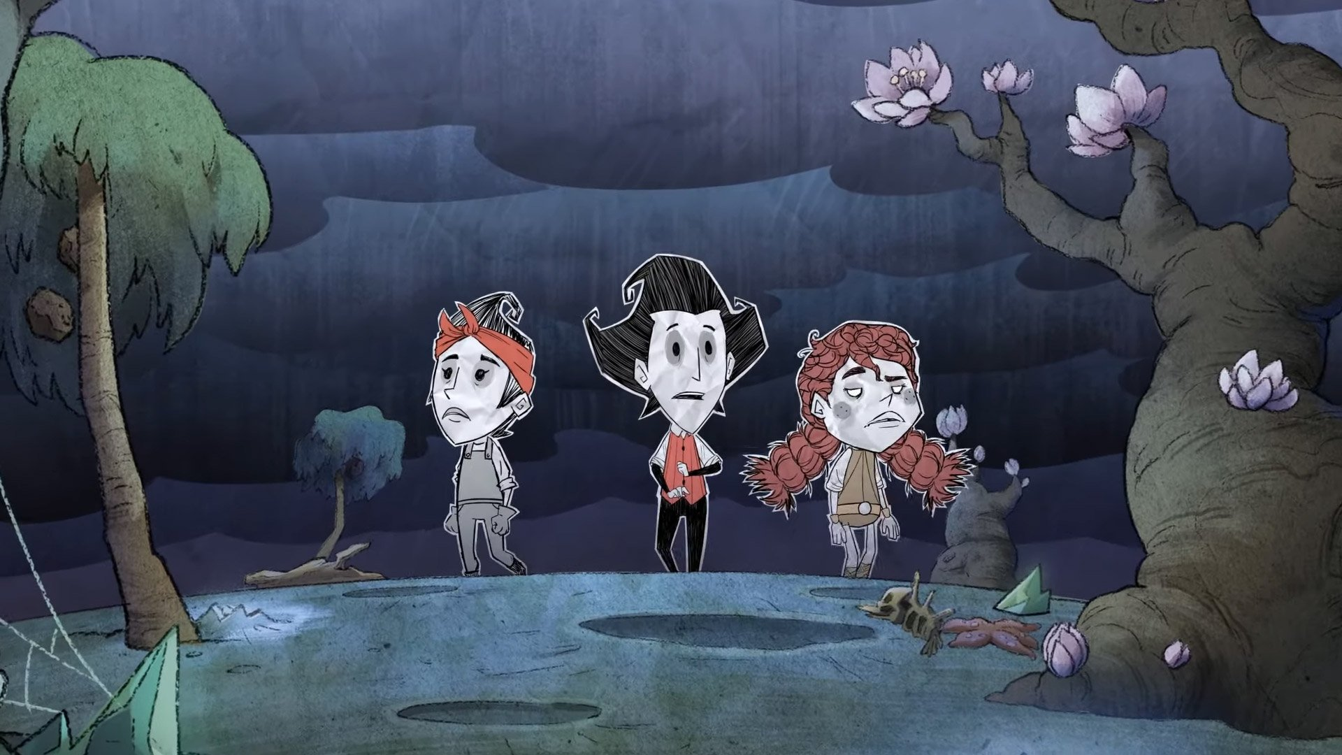 Don T Starve Together Wants You To Set Sail For The Spooky Lunar