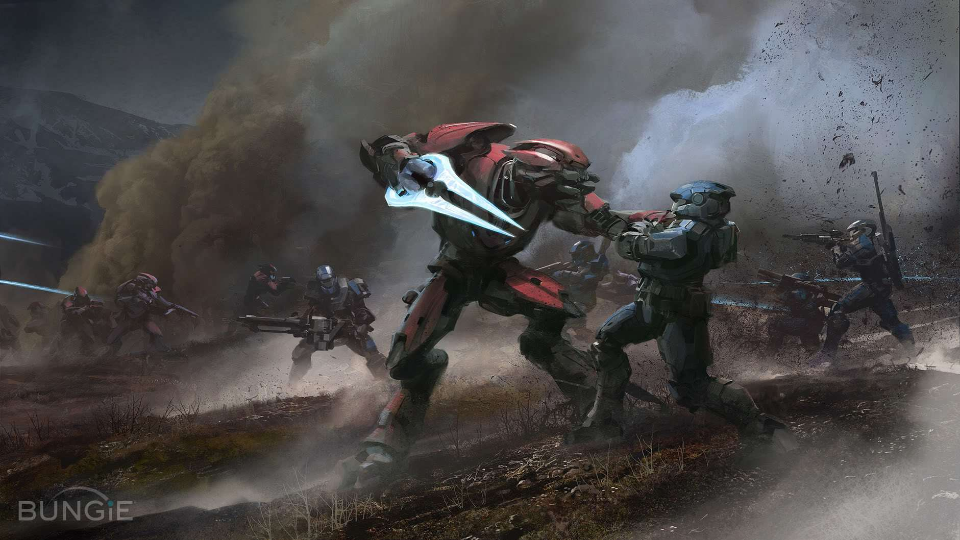 Halo: Reach infiltrates Gears 5 screenshot