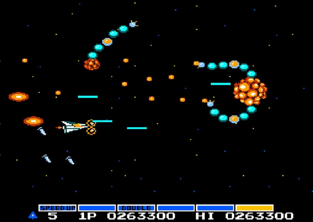 Vic Viper jets into battle as VS. Gradius returns on PS4 and Nintendo Switch screenshot