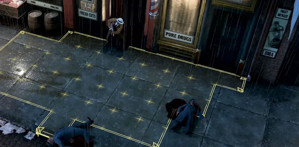 Here's a good look at Empire of Sin's strategic X-COM-esque gameplay screenshot