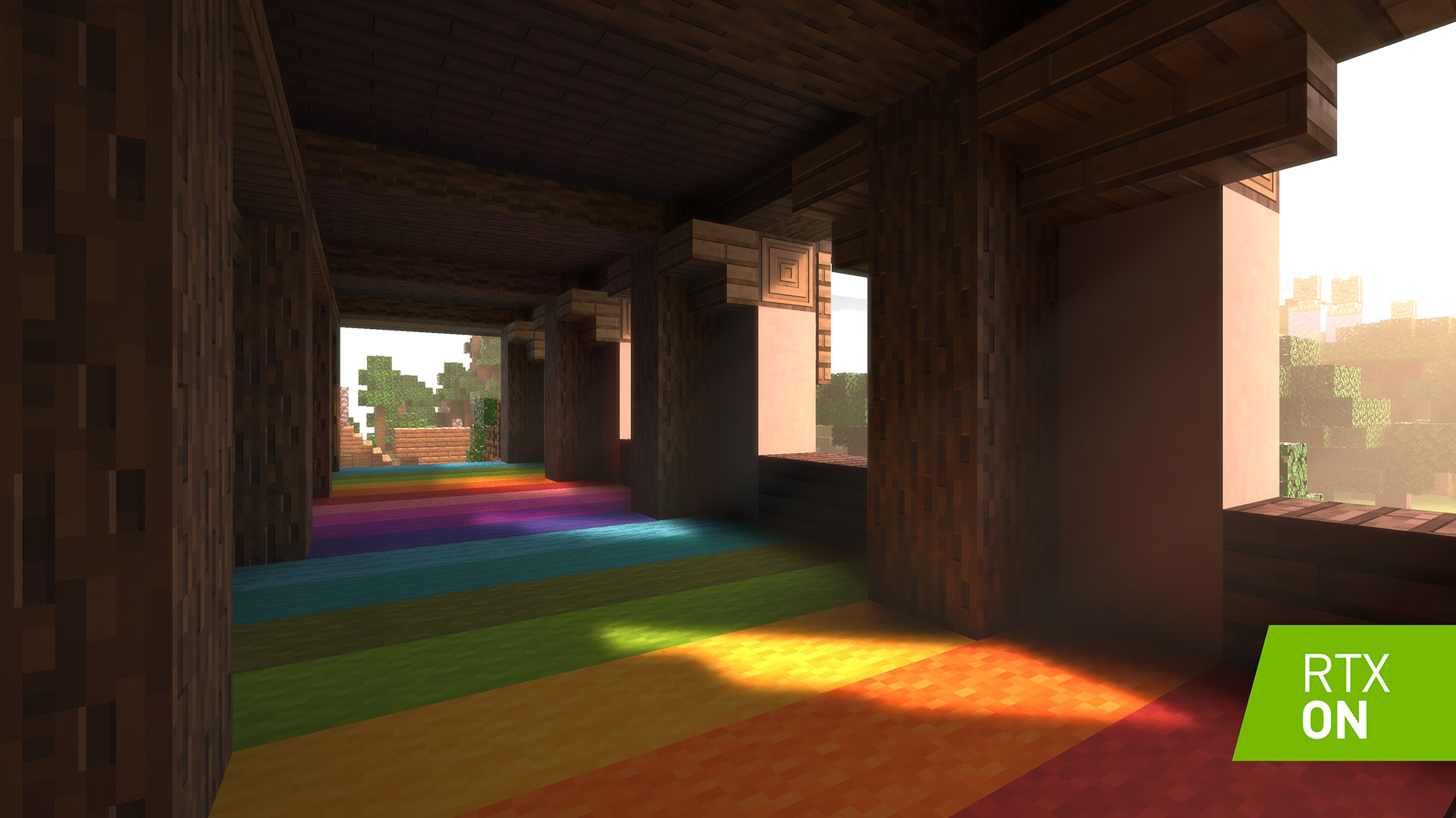 Minecraft is getting visual upgrades, including ray tracing photo