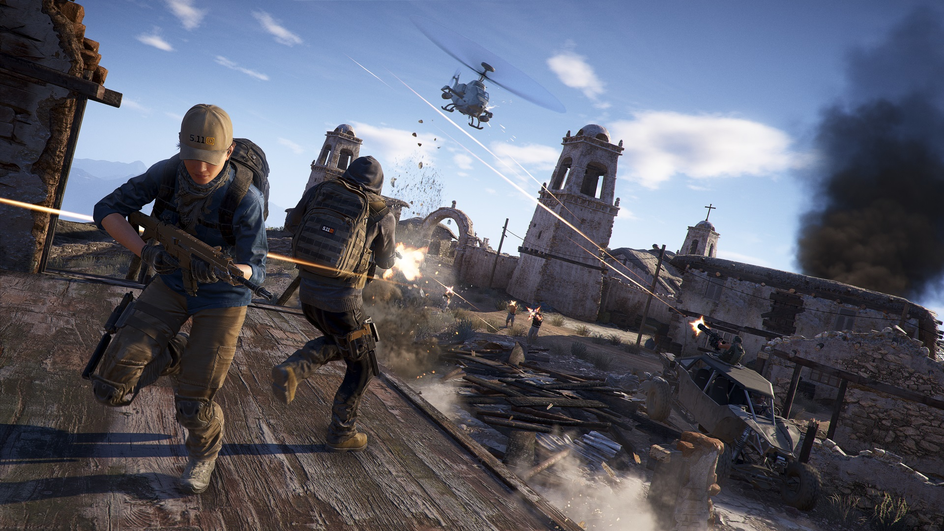 Ghost Recon Breakpoint details its battle royale-like multiplayer screenshot