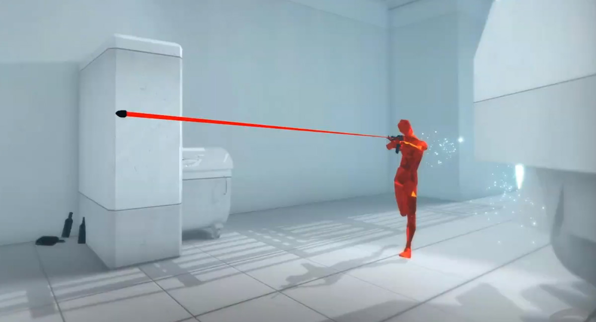 Superhot came to Switch today, and it's eventually coming to Google Stadia screenshot