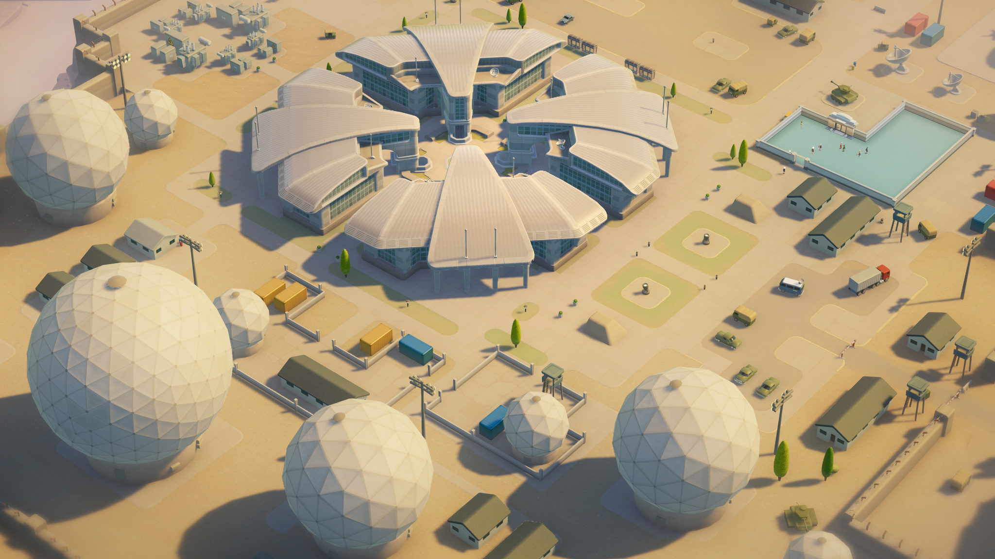 Close encounters abound in Two Point Hospital's latest DLC screenshot