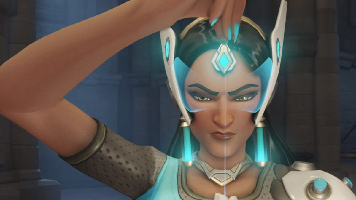 Once Overwatch's least played character, Symmetra is now the game's 'It Girl' screenshot