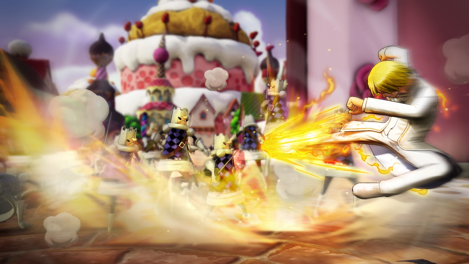 One Piece: Pirate Warriors 4 looks delicious