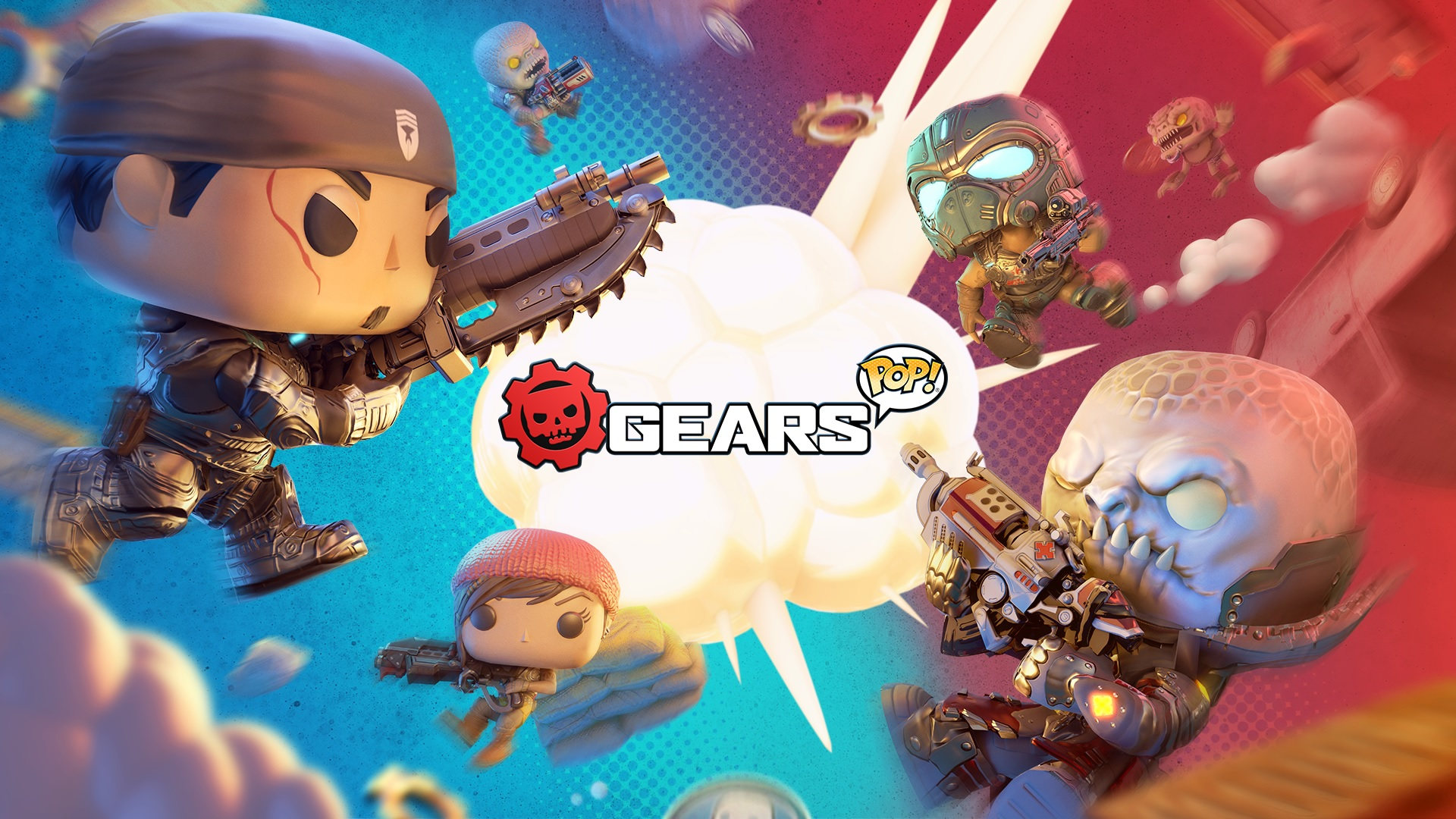 Gears Pop! is now available on PC and mobile