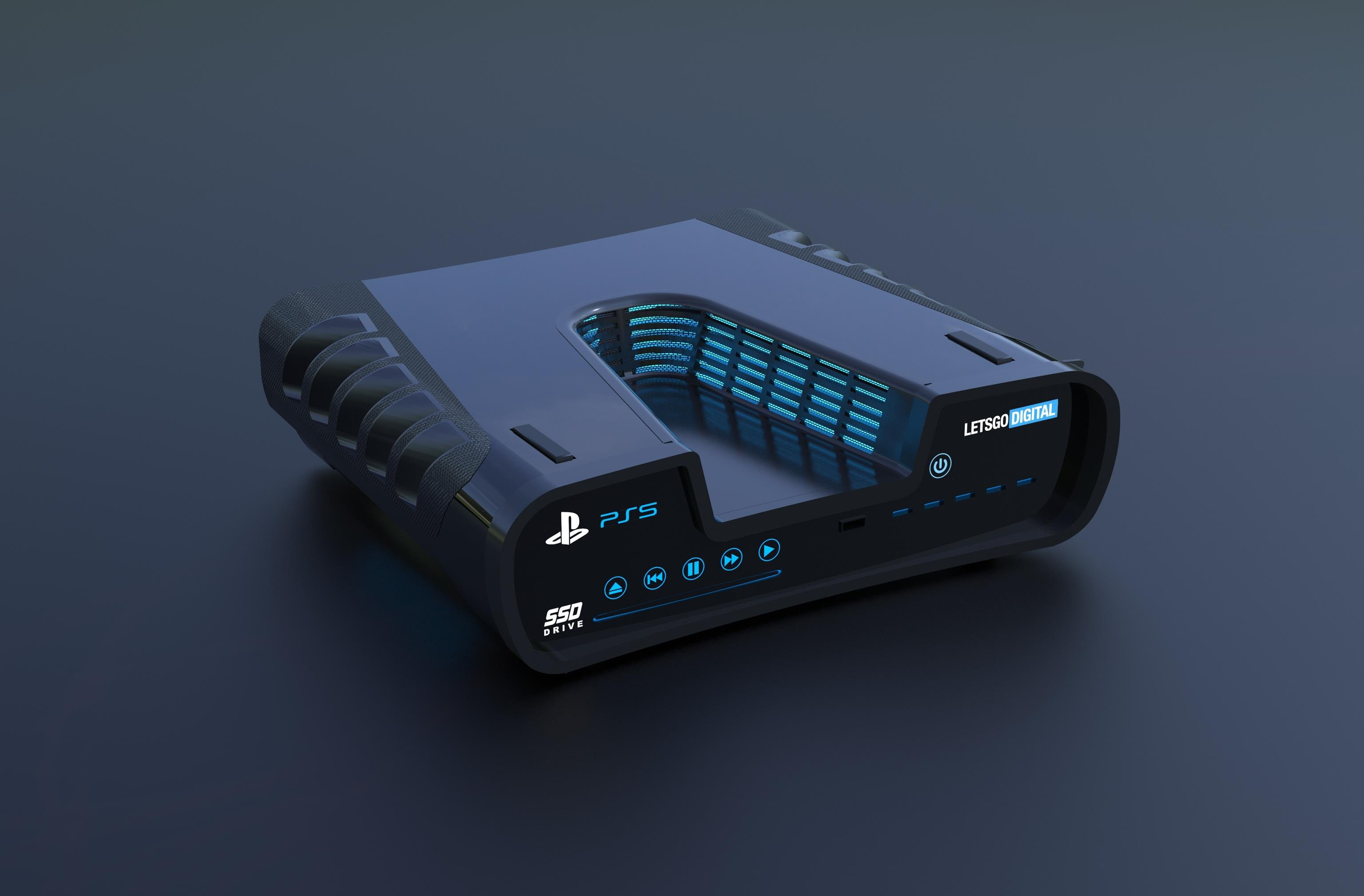 Remember that potential PS5 development kit image? Someone made a 3D render of it screenshot