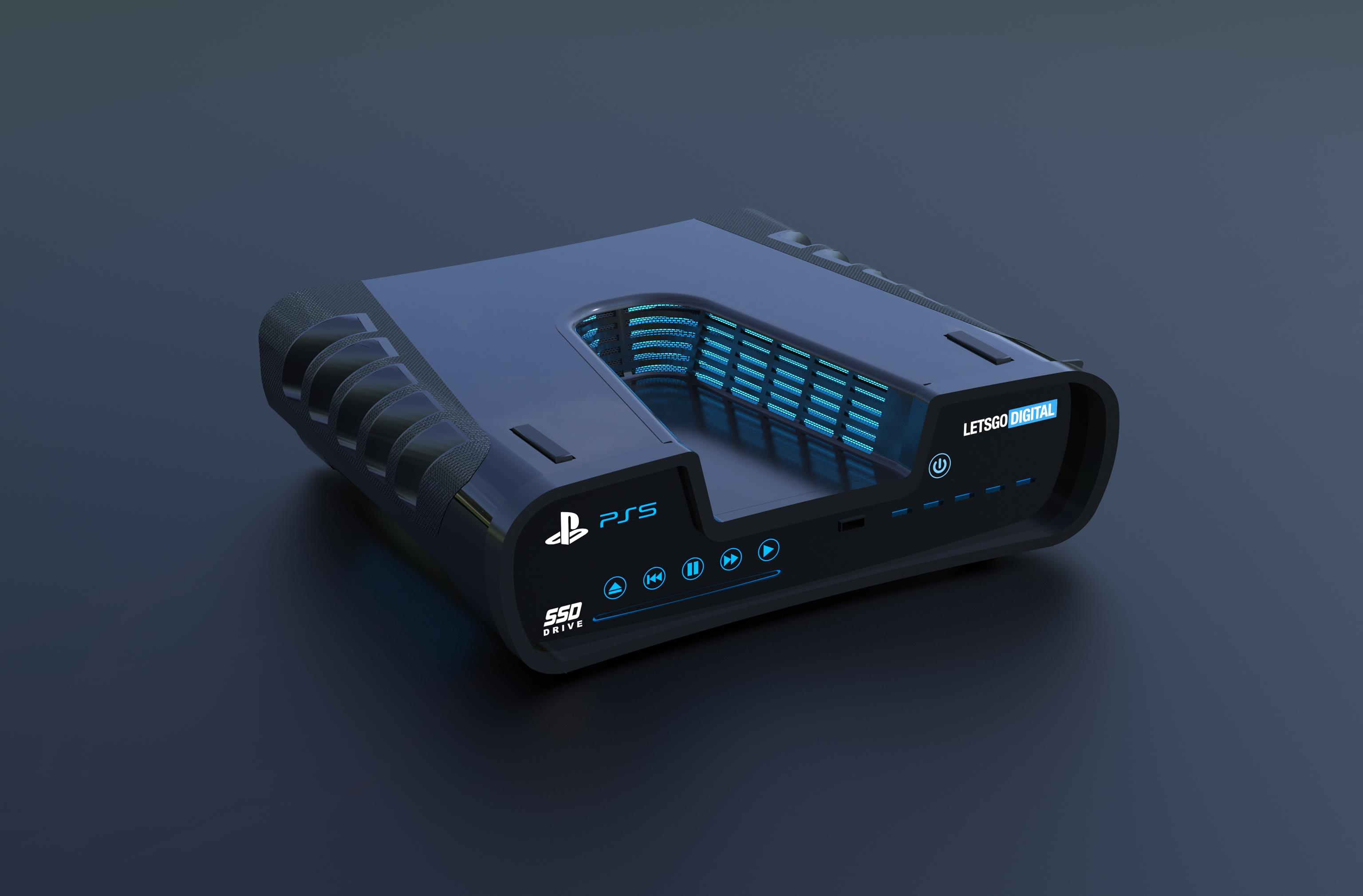 Remember that potential PS5 development kit image? Someone made a 3D render of it