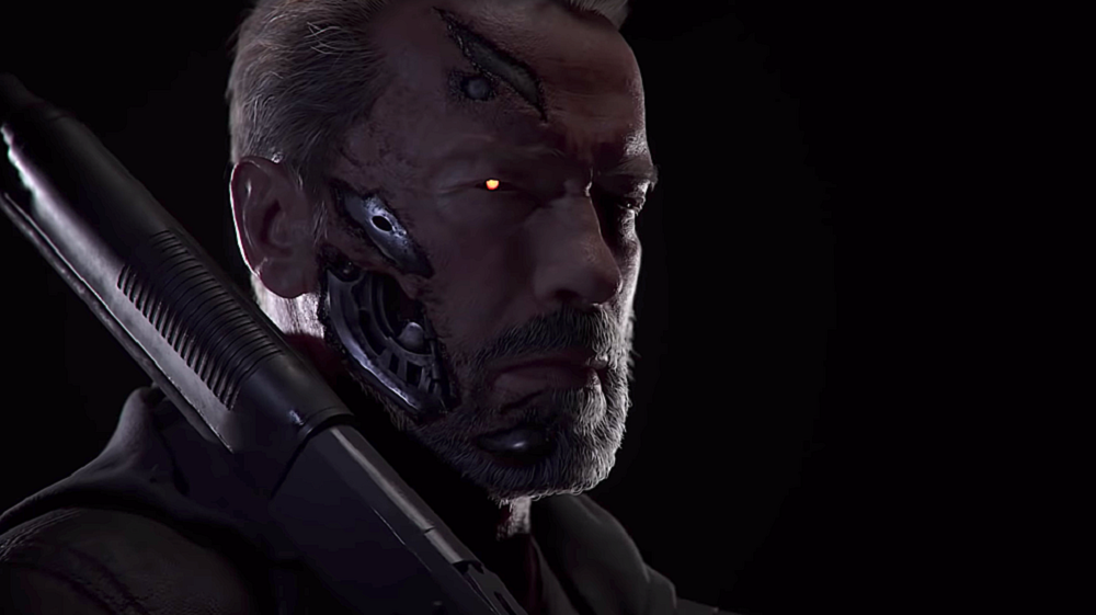 It looks like Arnie won't be back to voice Terminator in Mortal Kombat 11 screenshot