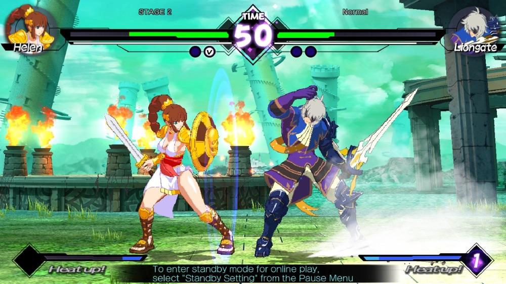 Blade Strangers update will add 1001 Spikes, Umihara Kawase and Doki Doki Poyatchio stars screenshot
