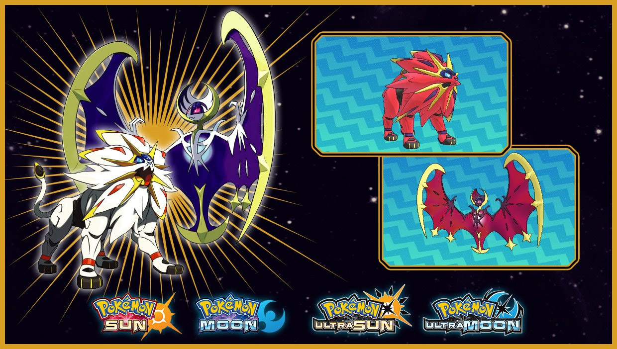 The next Pokemon Pass giveaway is Shiny Solgaleo and Shiny Lunala