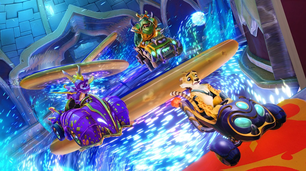 Spyro the Dragon joins the Crash Team Racing Nitro-Fueled roster in new Grand Prix event screenshot
