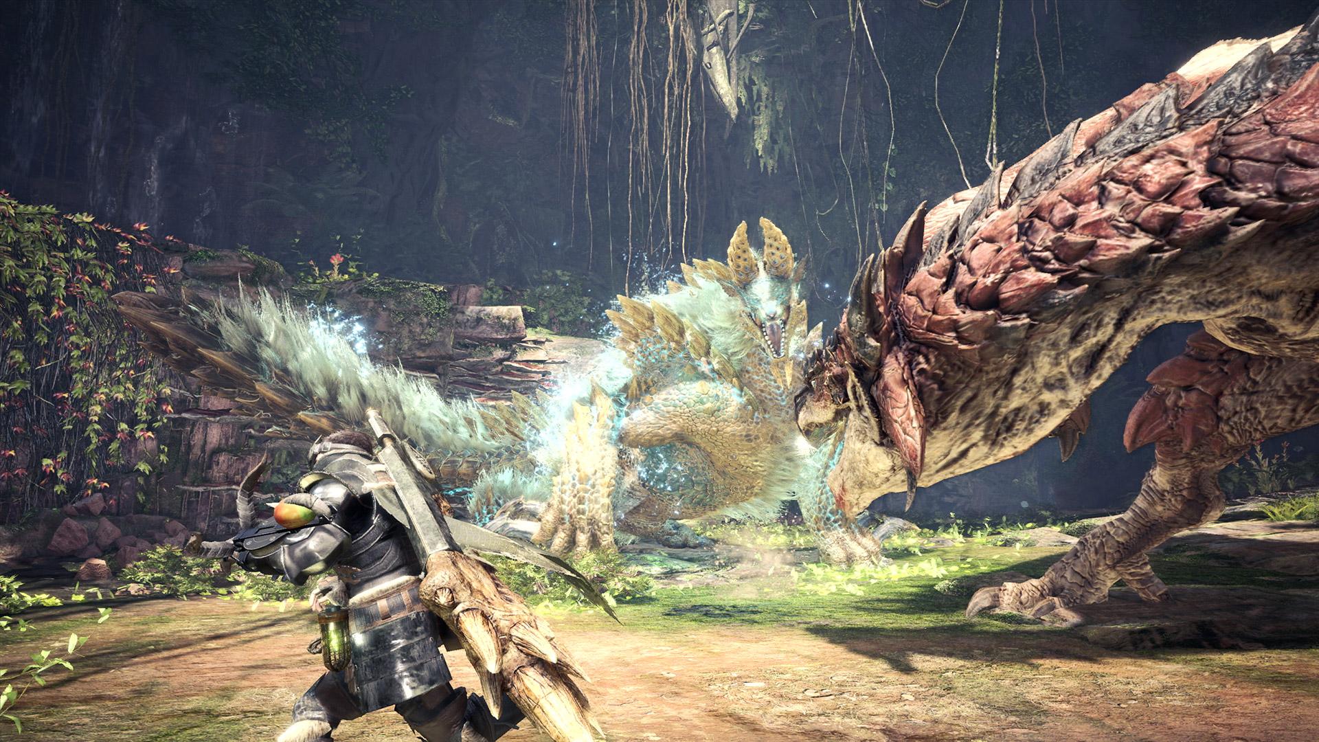 Zinogre is back for Monster Hunter World: Iceborne screenshot