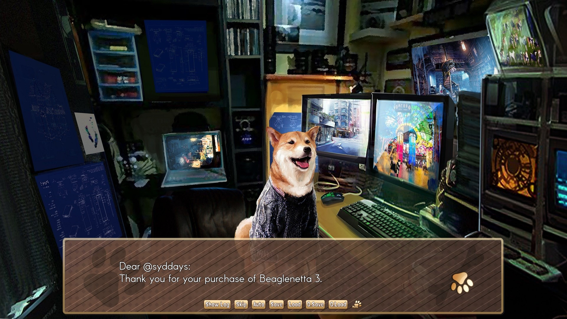 Contest: Pet, date dogs in A Summer with the Shiba Inu screenshot