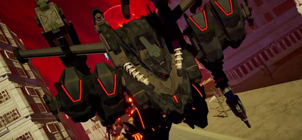 Daemon x Machina unleashes suitably dramatic Japanese launch trailer screenshot