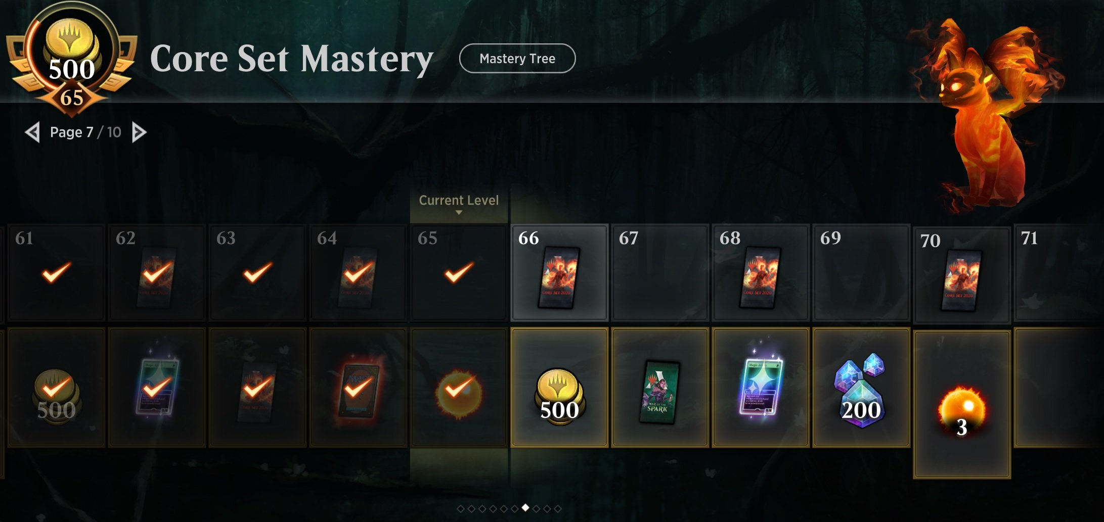When does the first Magic: Arena mastery pass end? On September 26 screenshot