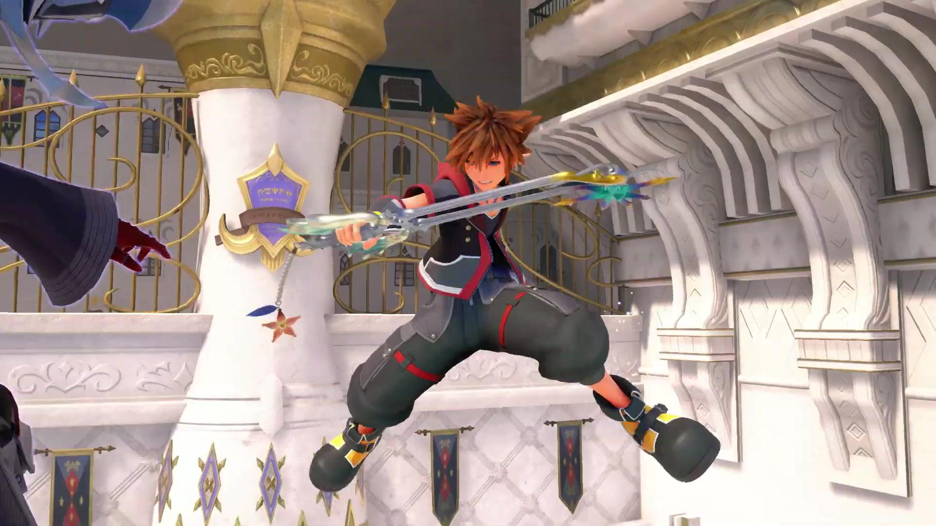 Square Enix will be showing off Kingdom Hearts 3's DLC next week screenshot
