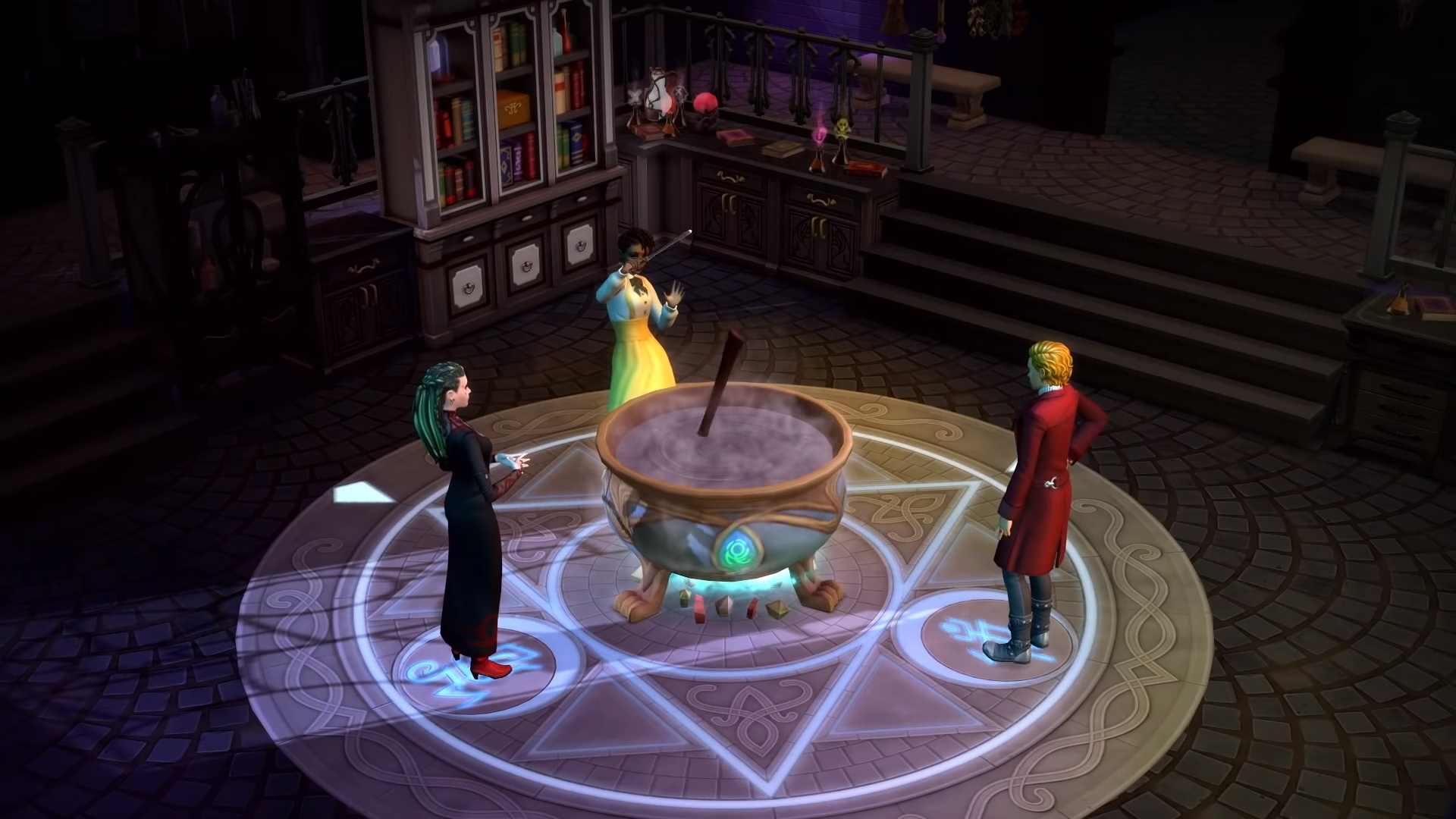 The Sims 4: Realm of Magic is like Harry Potter meets The CW