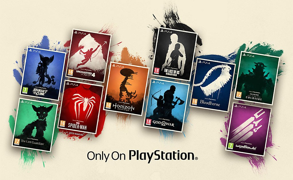 Sony debuts collectible 'Only on PlayStation' game covers screenshot