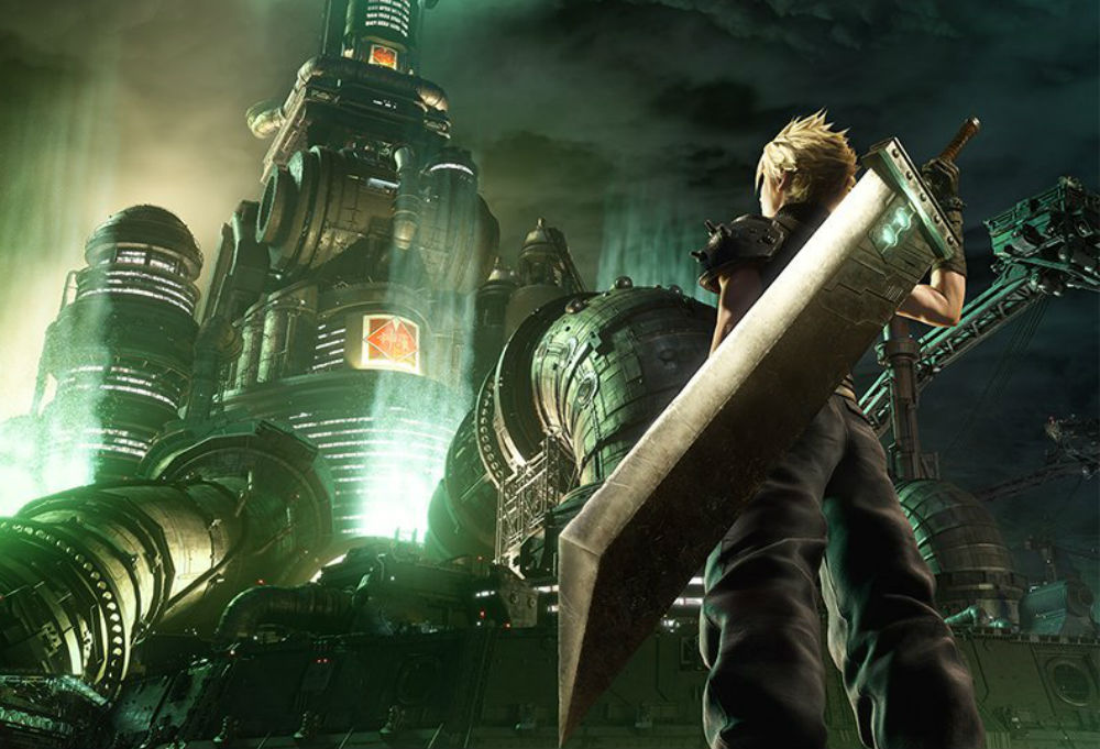 Well, they did it: Square Enix remade the Final Fantasy VII box art screenshot