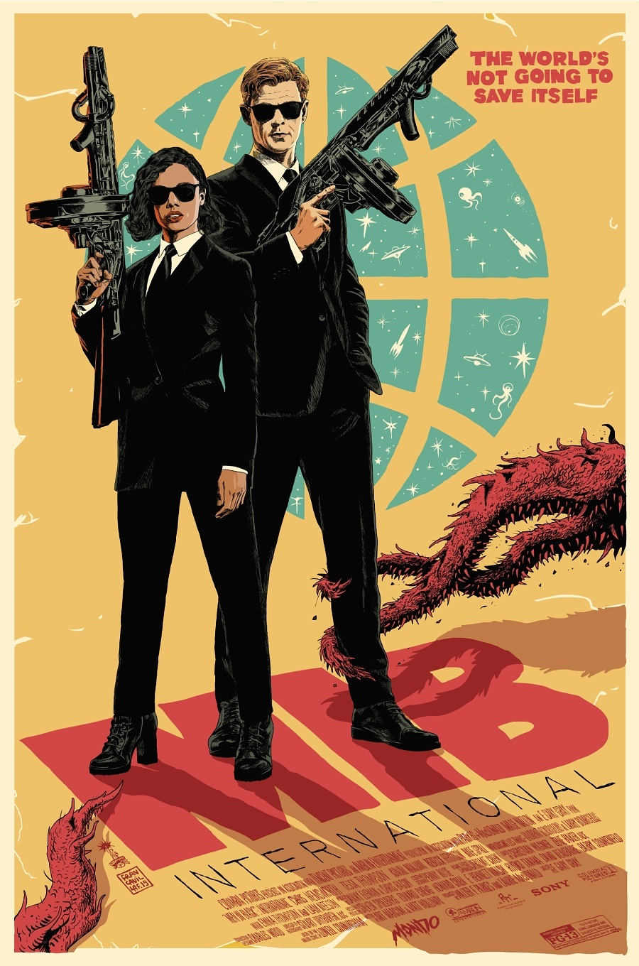 Men in Black International contest Mondo poster win