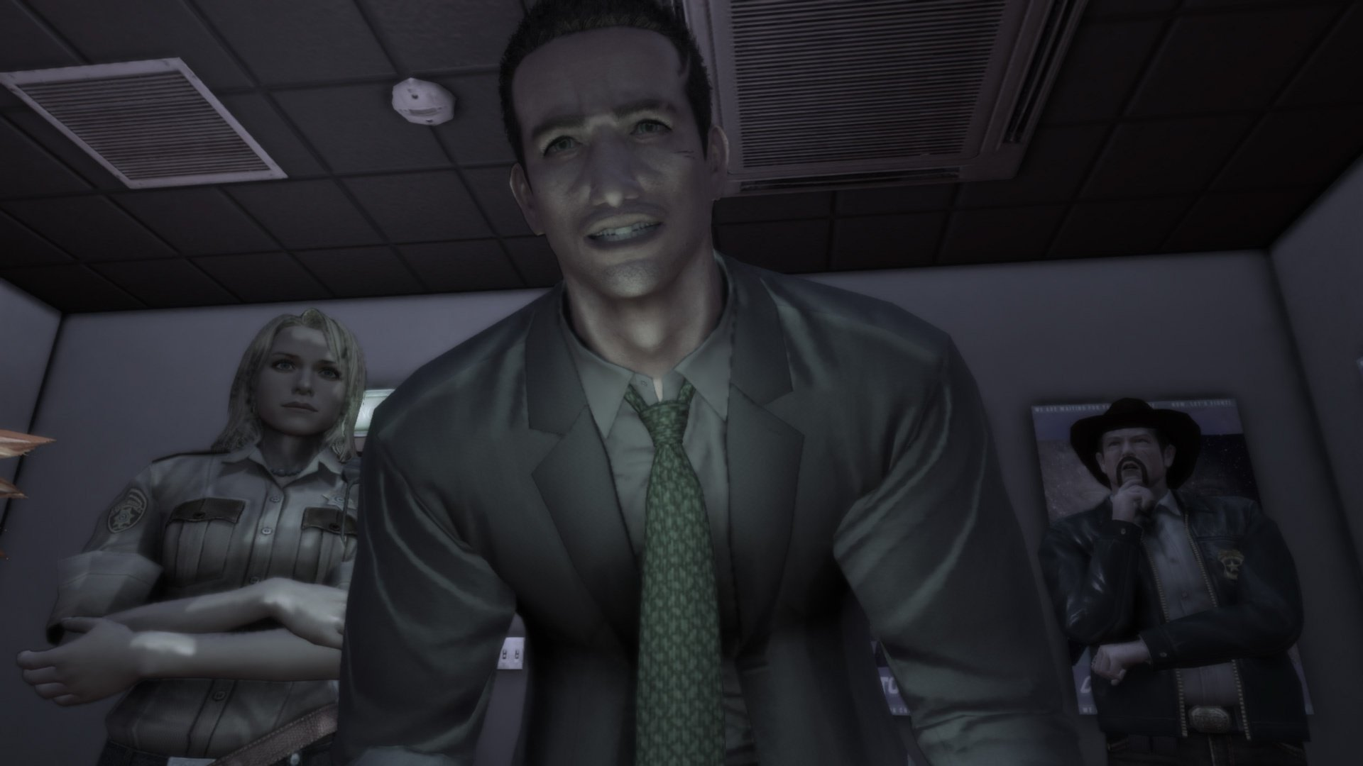 Is it possible to make a sequel to Deadly Premonition without losing what made the original so unique? screenshot