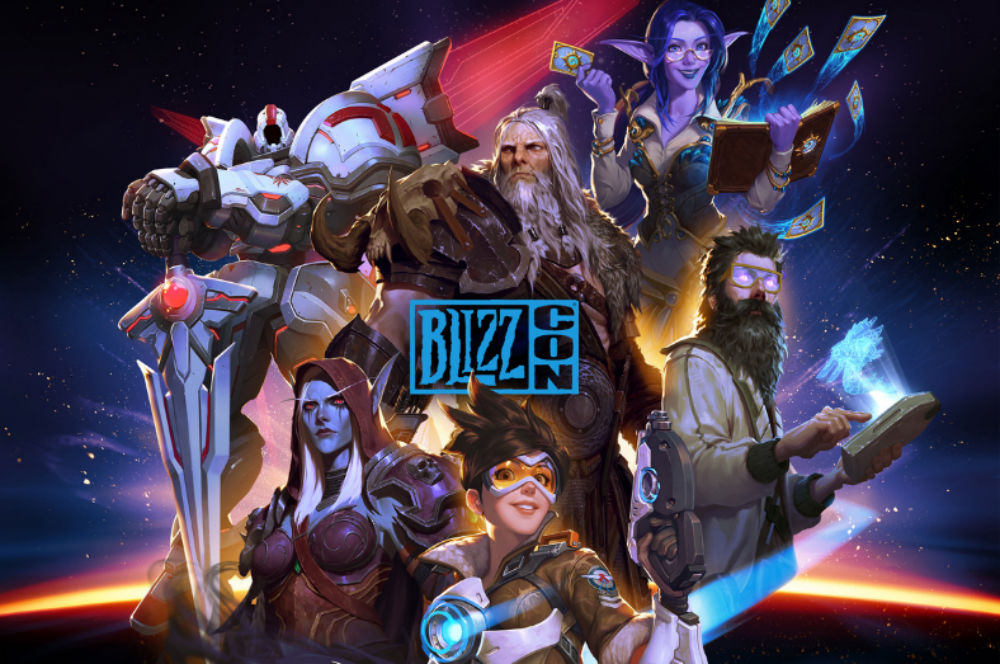 2019's BlizzCon key art puts Overwatch front and center, surprisingly reps Heroes of the Storm screenshot