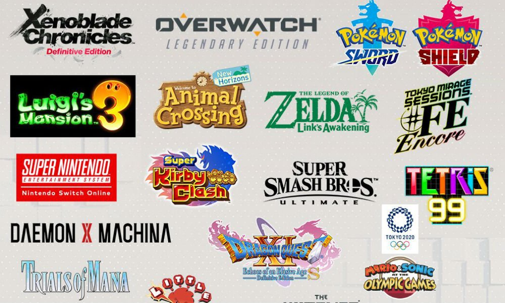 Whoa, there's a lot of Switch games on the horizon