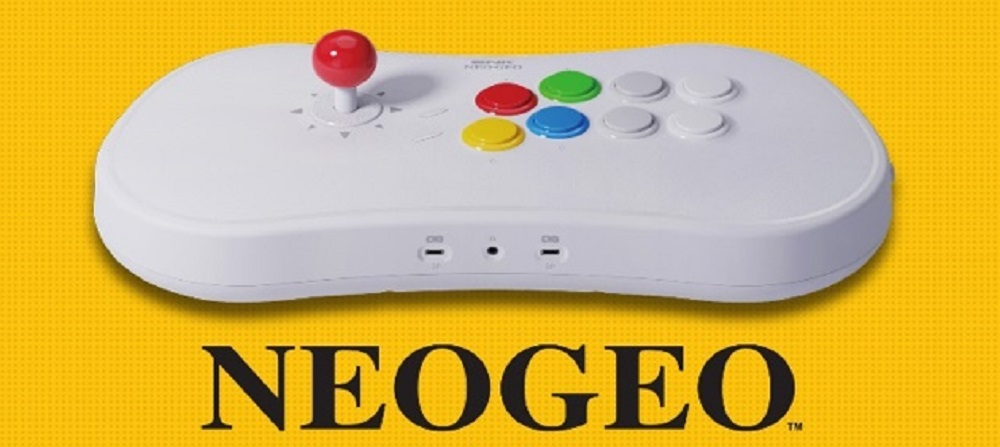 SNK details the new Neo Geo Arcade Stick Pro, comes loaded with 20 games screenshot