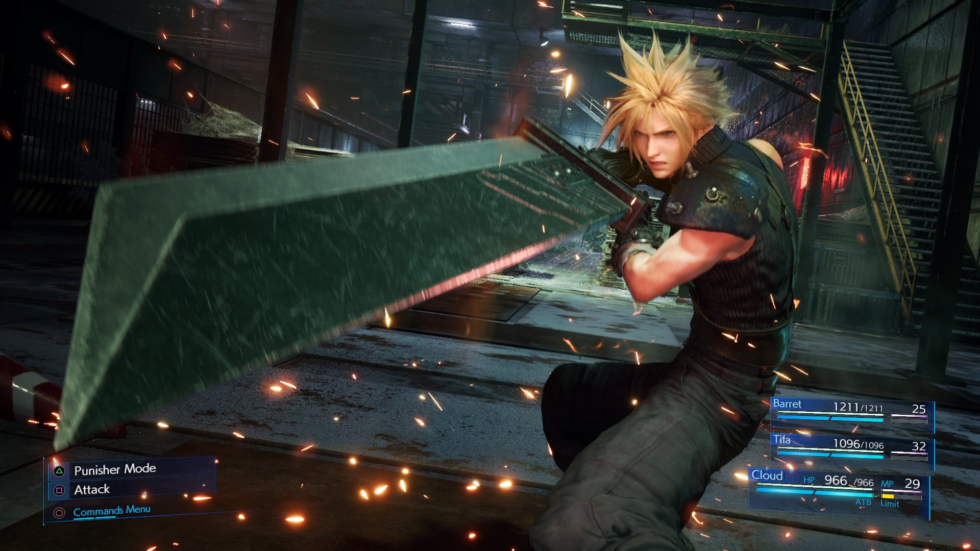 Square Enix is promising us a new look at the Final Fantasy VII Remake this week screenshot
