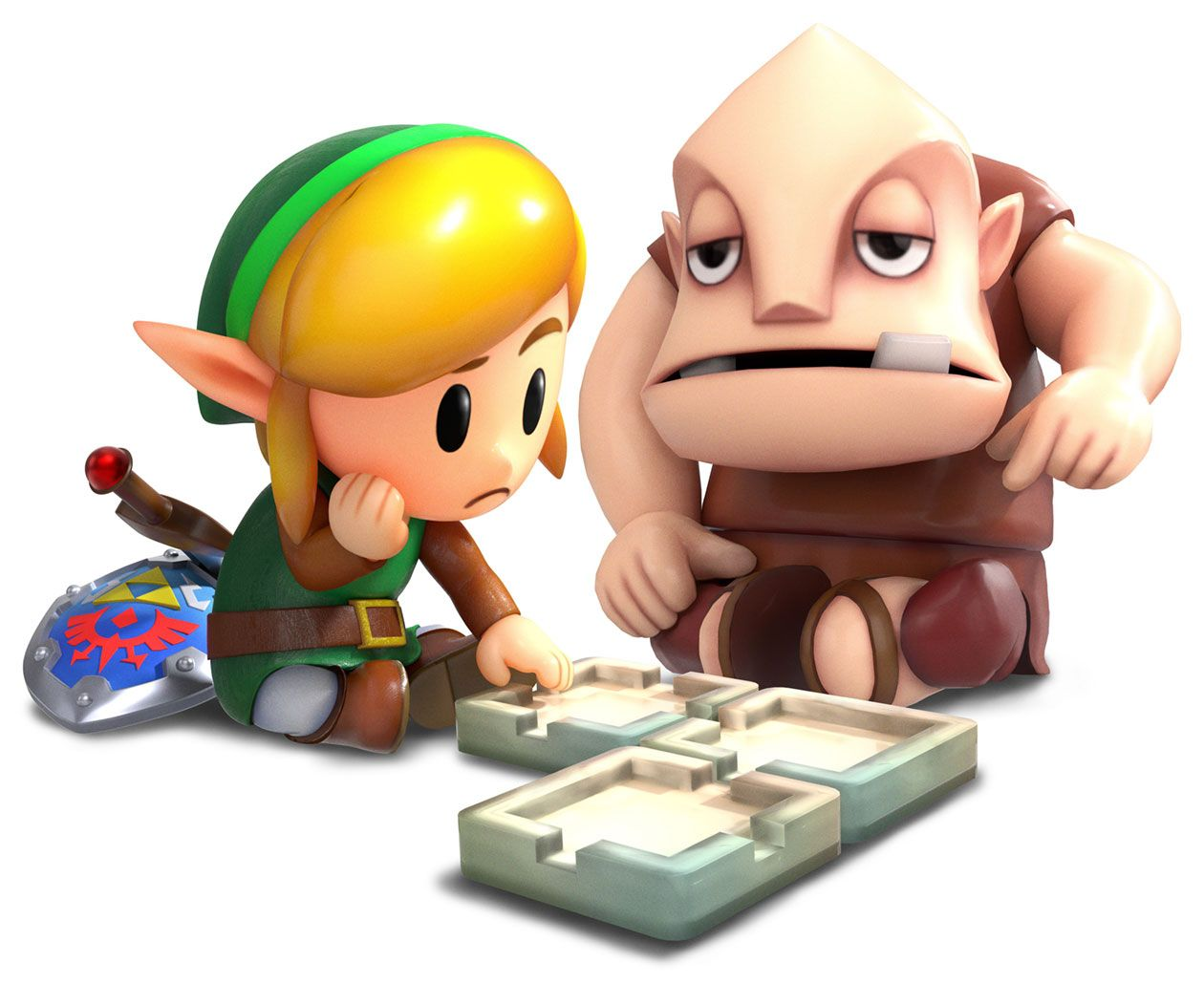 Zelda Link S Awakening Switch Guide How To Find Dampe And
