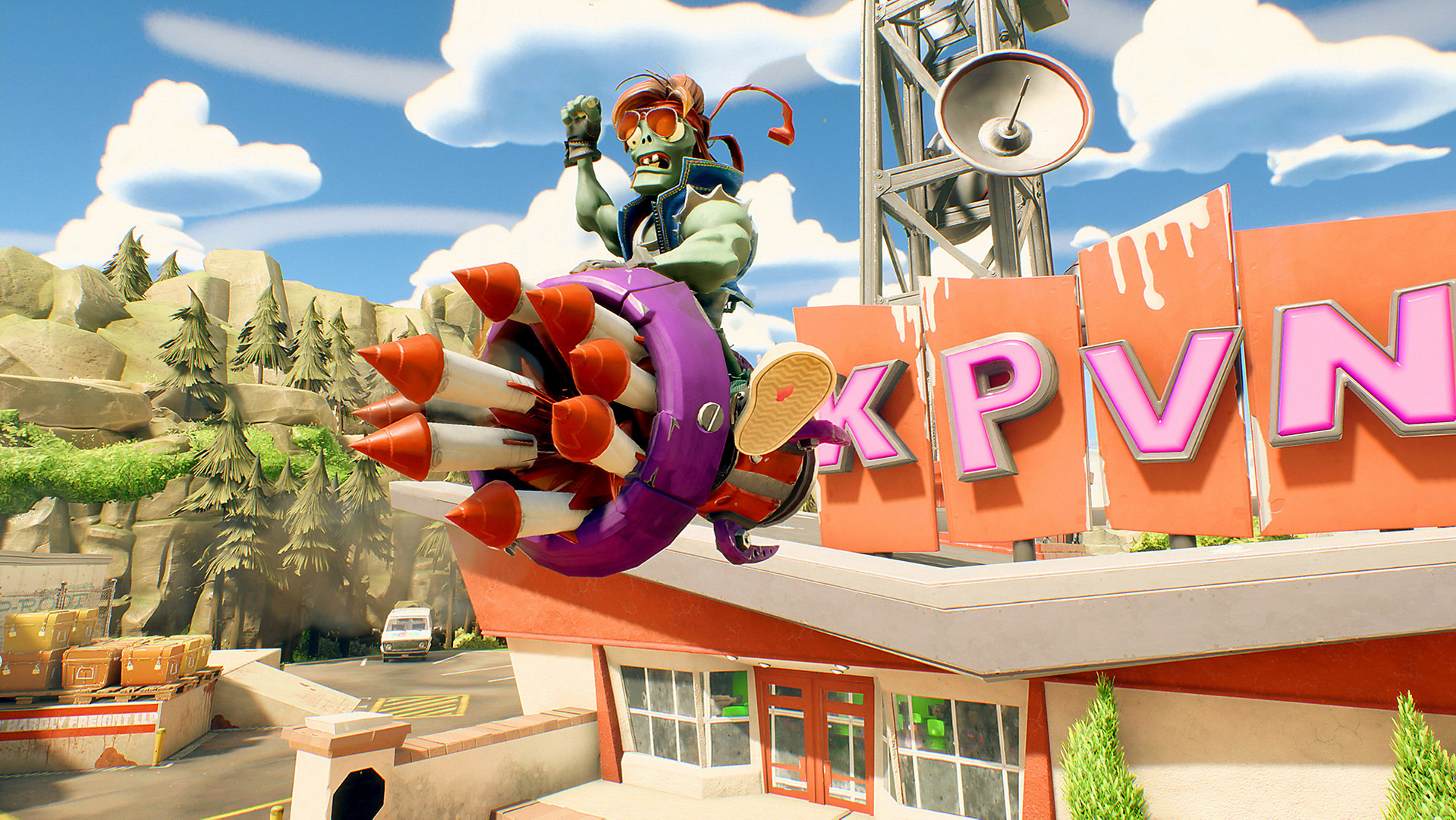 Plants vs. Zombies: Battle for Neighborville is a ton of fun, even in early access screenshot