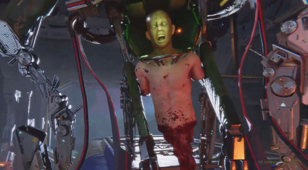 This System Shock 3 pre-alpha teaser trailer may have you saying 'hot damn!' screenshot