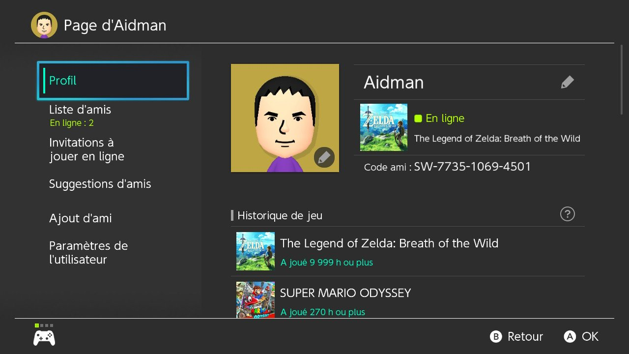 Someone found out the limit of the Switch's Play Activity timer by playing 9,999 hours of Zelda: Breath of the Wild