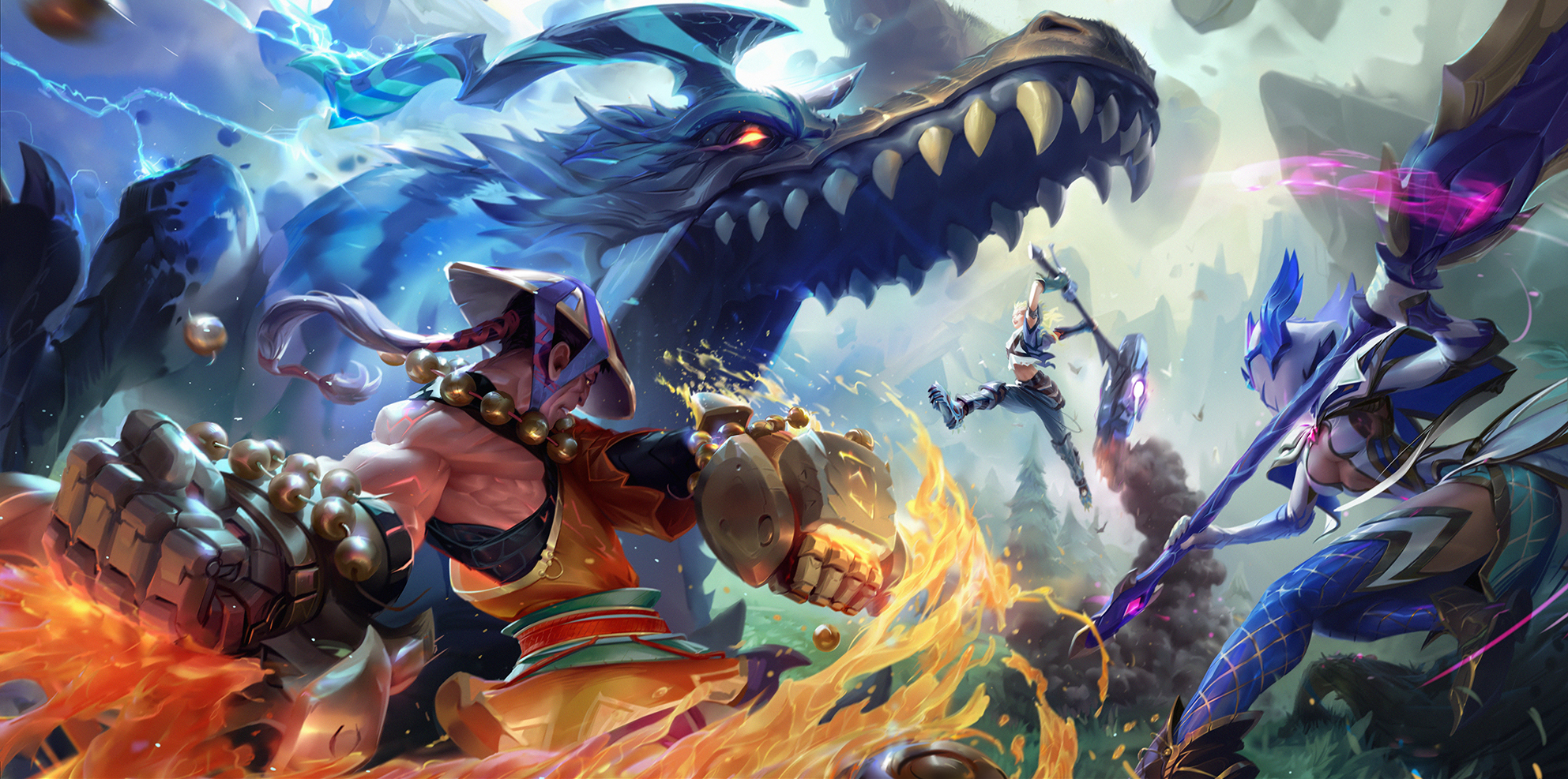 Dauntless is leaving Early Access later this month with a massive 1.0 patch