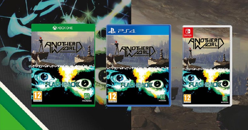 Another World and Flashback double pack announced for PS4, Xbox One and Nintendo Switch screenshot