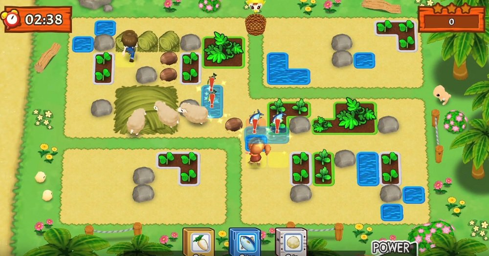 Harvest Moon: Mad Dash gives new meaning to fast food screenshot
