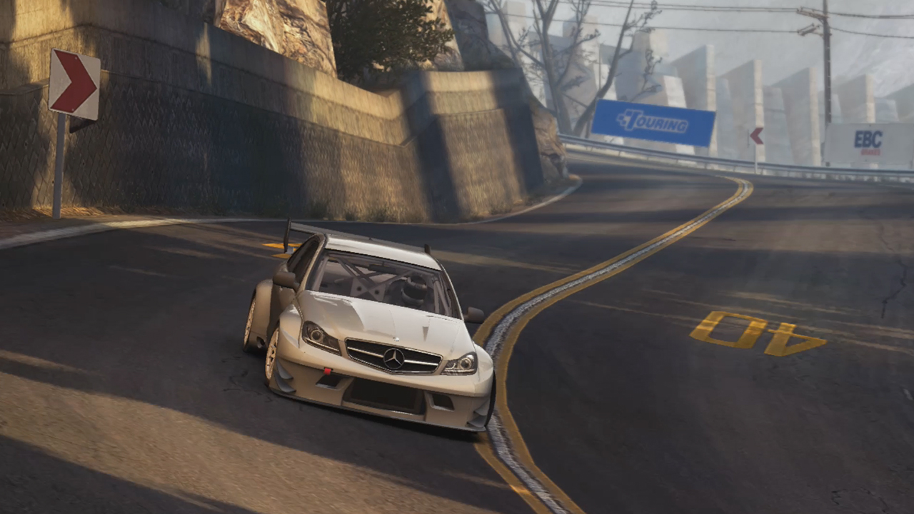 Grid Autosport's Switch port features options for graphics/performance screenshot